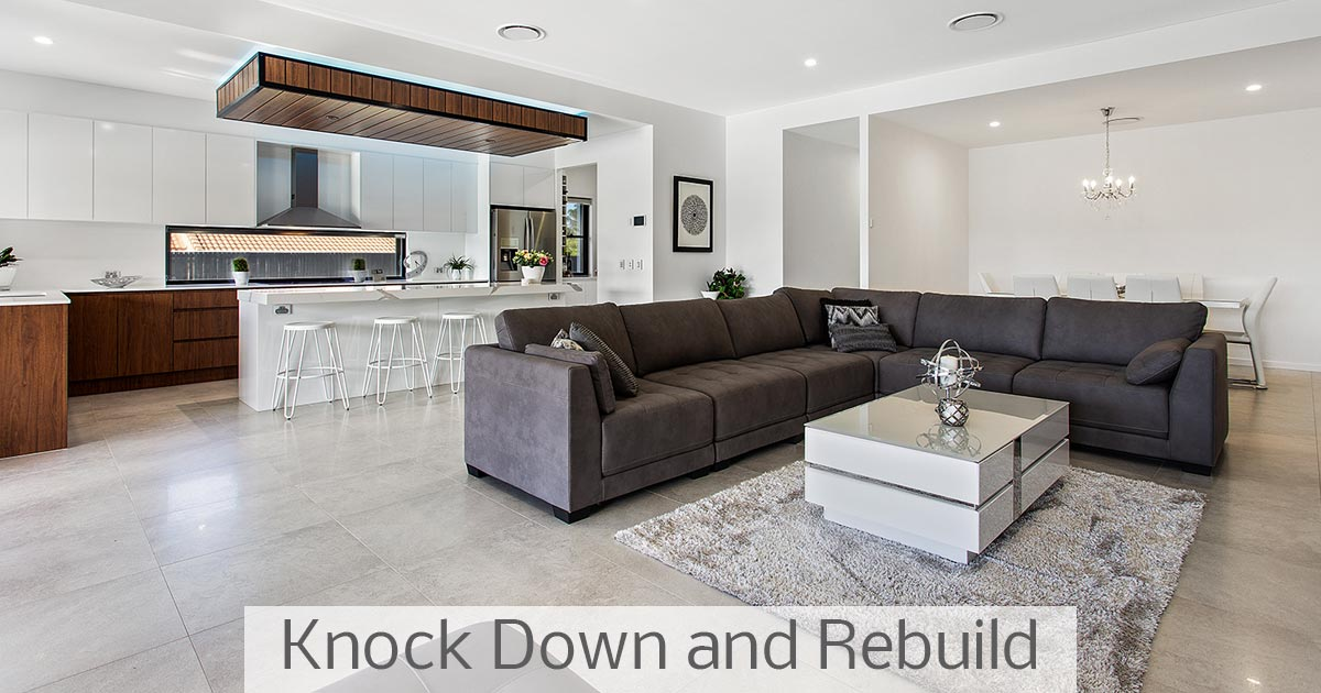 Knock Down and Rebuild