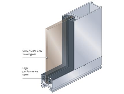Solar Block Window Design