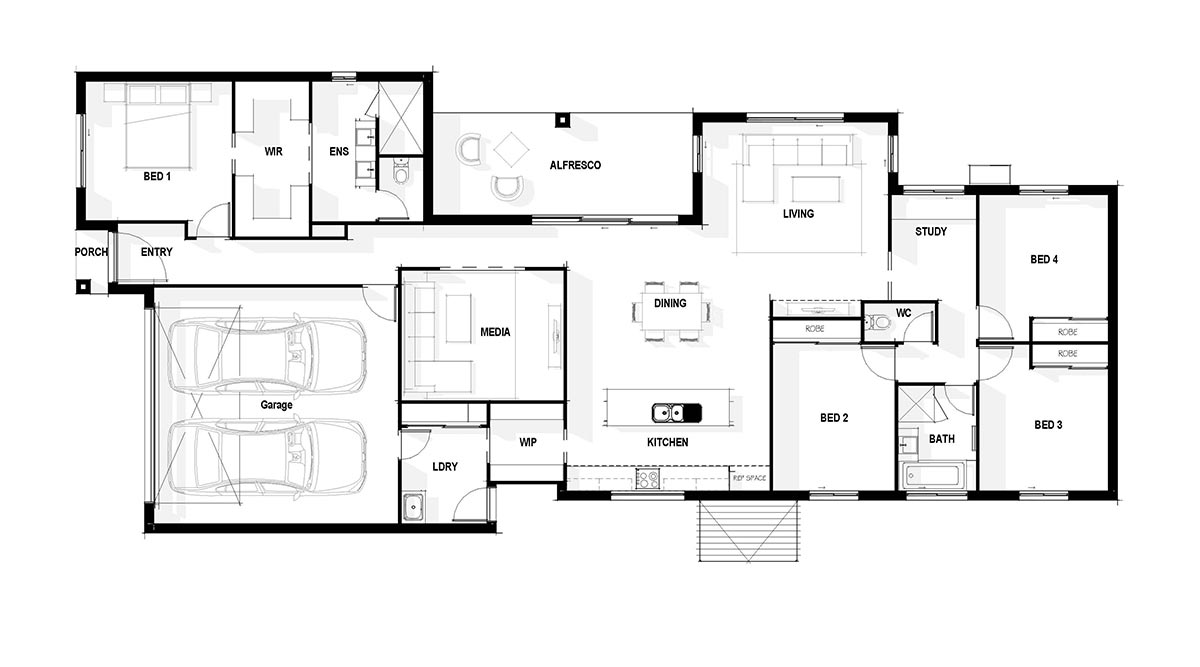 Harmony Display Home Plan